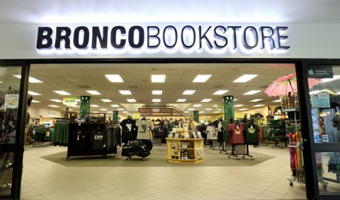 Front of bookstore